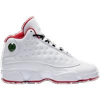 Jordan Retro 13 - Boys  Grade School - White   Silver 715c07dc0