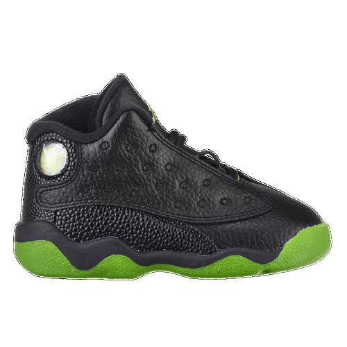 Jordan Retro 13 - Boys\u0027 Toddler - Black / Green