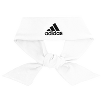 adidas Alphaskin Tie Headband - White