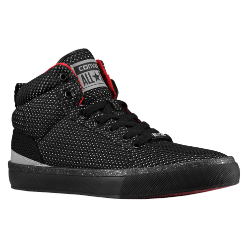 Converse Basketball Shoes Men Bassline Hi black/red