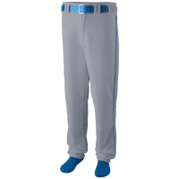 Augusta Sportswear Team Sweep Piped Baseball Pant - Men's - Grey / Blue