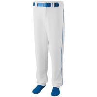 Augusta Sportswear Team Sweep Piped Baseball Pant - Men's - White / Blue