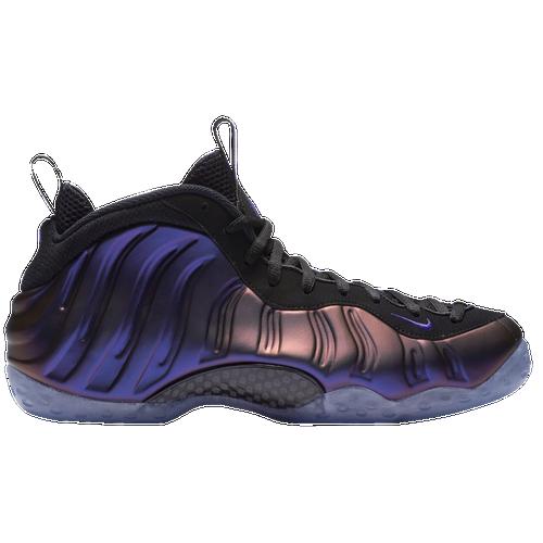 Nike Air Foamposite One - Men's - Basketball - Shoes - Black/Varsity Purple/Varsity  Purple