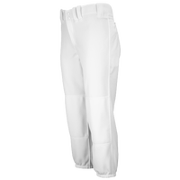 Mizuno Select Belted Fastpitch Pants - Women's - All White / White