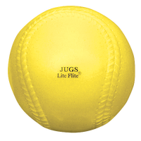 Jugs Lite-Flite Softballs - Yellow / Yellow