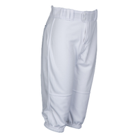 Rawlings Ace Relaxed Fit Knicker Pants - Grade School - All White / White