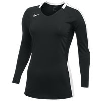Nike Team Vapor Pro L/S Jersey - Women's - Black / White