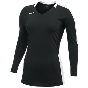 Nike Team Vapor Pro L/S Jersey - Women's - Black/White
