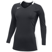 Nike Team Vapor Pro L/S Jersey - Women's - Grey / White