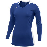 Nike Team Vapor Pro L/S Jersey - Women's - Blue / White