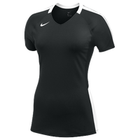 Nike Team Vapor Pro S/S Jersey - Women's - Black / White
