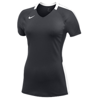 Nike Team Vapor Pro S/S Jersey - Women's - Grey / White