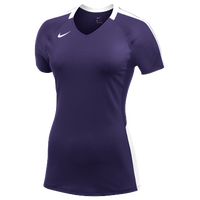 Nike Team Vapor Pro S/S Jersey - Women's - Purple / White