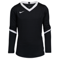 Nike Hyperace Long Sleeve Game Jersey - Girls' Grade School - Black