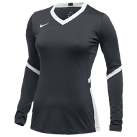 Nike Hyperace Long Sleeve Game Jersey - Girls' Grade School - Navy