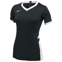 Nike Team Hyperace S/S Jersesy - Girls' Grade School - Black