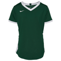 Nike Team Hyperace S/S Jersey - Girls' Grade School - Green