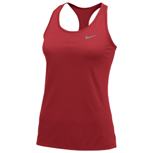 Nike Team Balance Tank 2.0 - Women's - Scarlet/Cool Grey