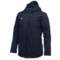 Nike Team Down Filled Parka - Men's - Navy / White