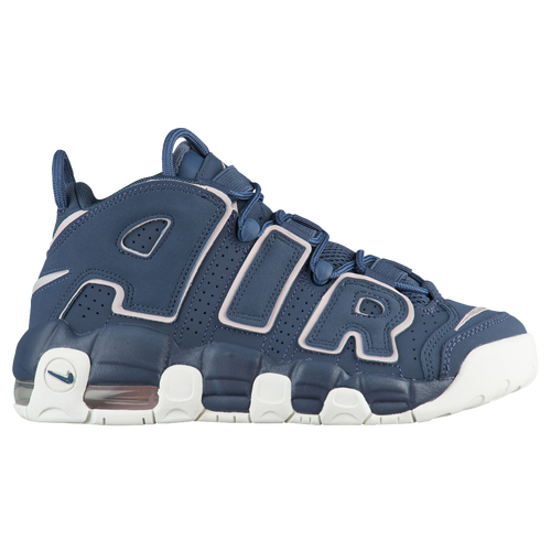 Nike Air More Uptempo - Boys' Grade School - Basketball - Shoes - Thunder  Blue/Particle Rose
