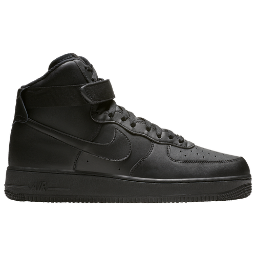 nike air force 1 high all black shoes