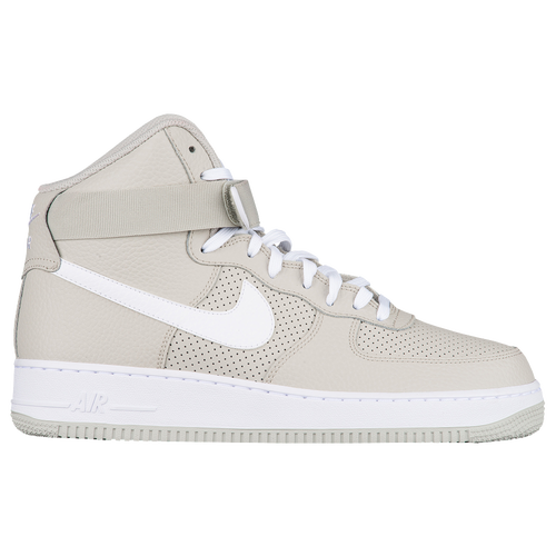 faire du shopping clairance excellente Nike Air Force 1 Haut - Mens Blanc  Gris Nike Réduction