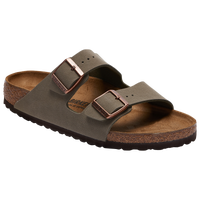 Birkenstock Arizona Cork Sandals - Women's - Grey