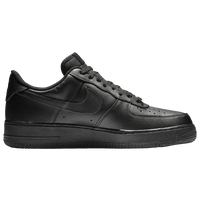 Noir Nike Air Force One Bas Noir