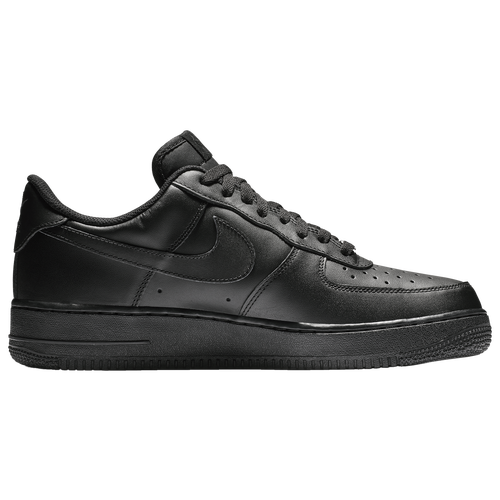nike air force 1 low black men's