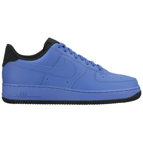 nike air force 1 blue low tops
