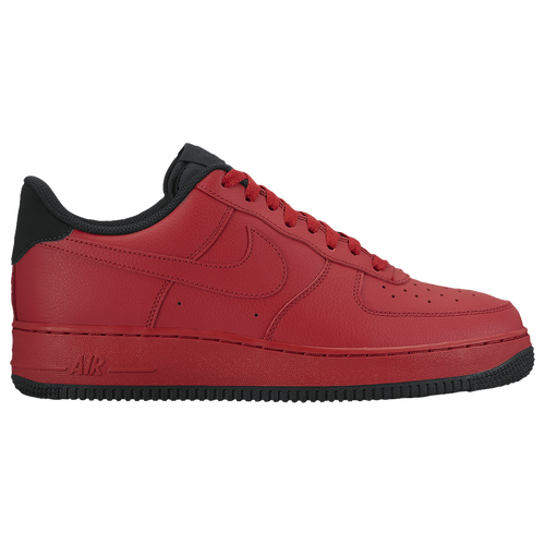nike men's air force 1 '07 lv8 red navy gold