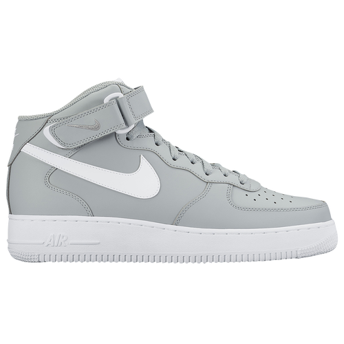 b2b38b24180 ... czech nike air force 1 mid mens basketball shoes wolf grey white caba7  ec127