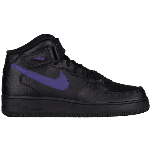 official photos 5f622 f9844 Nike Air Force 1 Mid - Men s - Casual - Shoes - Black Court Purple