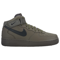 Nike Air Force 1 Mid - Mens - Casual - Shoes - BlackBlack