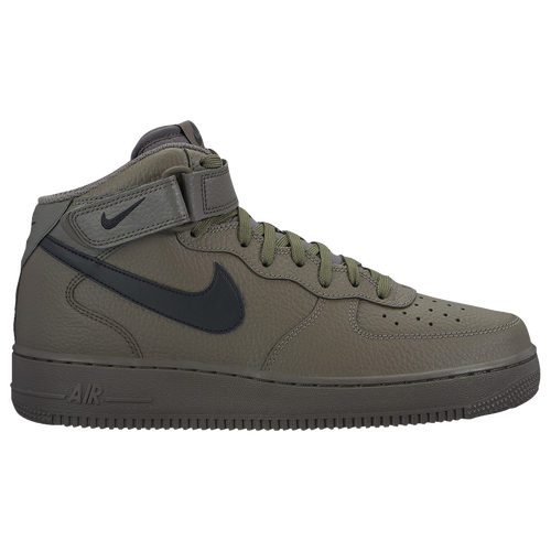 grey nike air force 1 mid