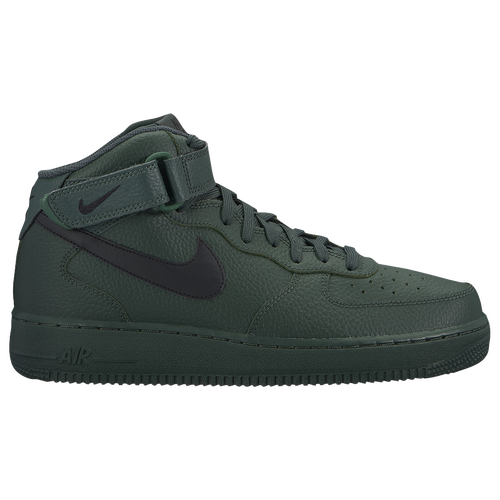 509336a4290721 Nike Air Force 1 Mid - Men s - Casual - Shoes - Grove Green Black Grove  Green