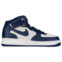 nike air force 1 navy blue and white