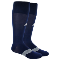 adidas Metro IV Soccer Socks - Men's - Navy / Grey