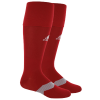 adidas Metro IV Soccer Socks - Men's - Red / Grey