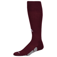 adidas Team Utility OTC Socks - Maroon / Grey
