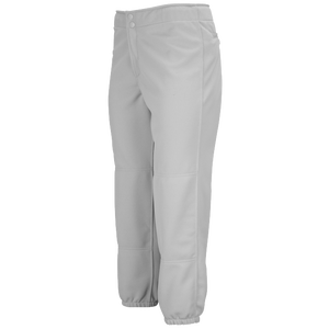 Mizuno Select Non-Belted Fastpitch Pants - Women's - Grey