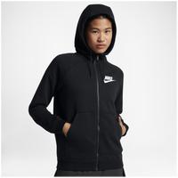 7a88110047a0 Nike Rally Full Zip Hoodie - Women s - Black   White