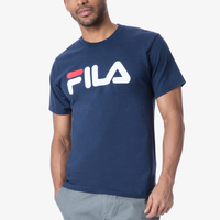 deea8d2a2425 Fila Logo T-Shirt - Men's - Navy / White