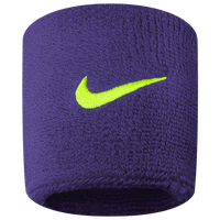 Nike Swoosh Wristbands - Purple
