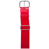 "All Star 1 1/2"" Elastic Uniform Belt - Red / Red"