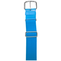 "All Star 1 1/2"" Elastic Uniform Belt - Light Blue / Light Blue"