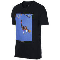 innovative design cb017 65b51 Jordan JSW Iconic Photo T-Shirt - Men s - Black   Blue
