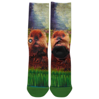 Stance Caddyshack Aftermath Crew Socks - Men's - Black / Green