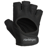 Harbinger Power Training Gloves - Women's - All Black / Black