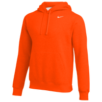 Nike Team Club Fleece Hoodie - Men's - Orange